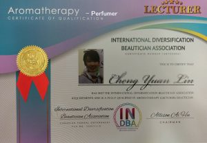 INDBA_Perfumer certificate